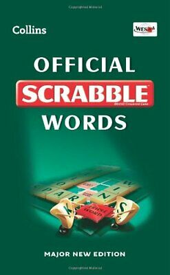 Collins Official Scrabble Words by Collins Dictionaries Hardback Book The Cheap