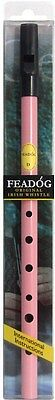 Irish Feadog Pink Tin Whistle Key D