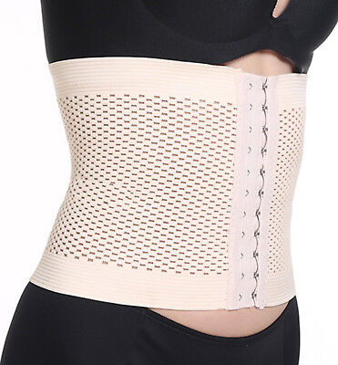 ✅ NEW Post partum maternity belt Body Shaper Wrap Weight Loss black beige 335