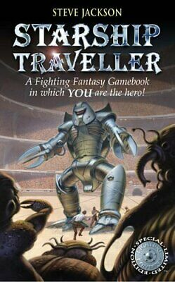 Starship Traveller: 22 (Fighting Fantasy) by Jackson, Steve Paperback Book The