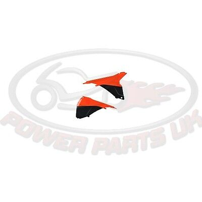 AIRBOX COVER ORANGE/BLACK POLISPORT For KTM EXC 125 2T