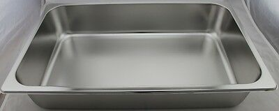 Stainless Steel Bain Marie Trays, 1/1 Size 100mm