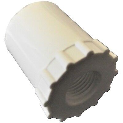 """(10) 1/2"""" Pvc Adaptors For Automatic Waterer Drinker Cup /nipple Chicken Poultry"""