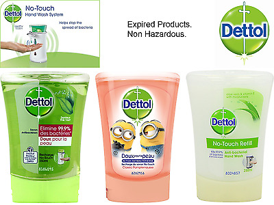 Dettol No Touch Anti-Bacterial Recharge Hand Wash Refills - 250 ml (Expired)
