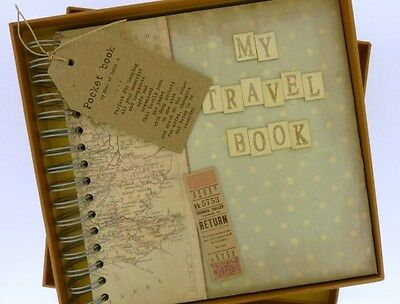Boxed Travel Planner Memory book East of India