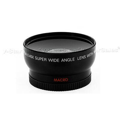 0.45x .45X 52mm Wide Angle Lens with Macro 52 mm