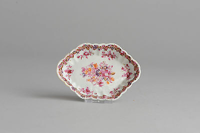 Lovely! 18c Qianlong Famille Rose Porcelain PAttipan Plate Chinese Qing