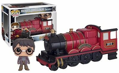 Funko POP! Rides Hogwarts Express Engine with Harry Potter Vinyl Action Figure
