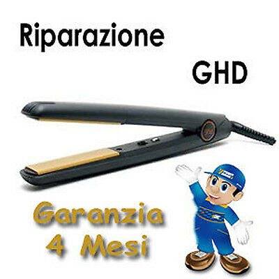 ASSISTENZA TECNICA RIPARAZIONE PIASTRA GHD STYLER GOLD SERIE media larga mini