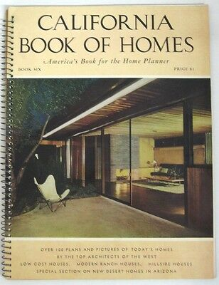 1951 California Book of Homes **VTG** Richard Neutra Architecture Julius Shulman