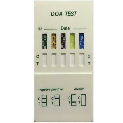 Saliva Drug Test Kit Oral Screen Testing Mouth Street Screening 5 in 1