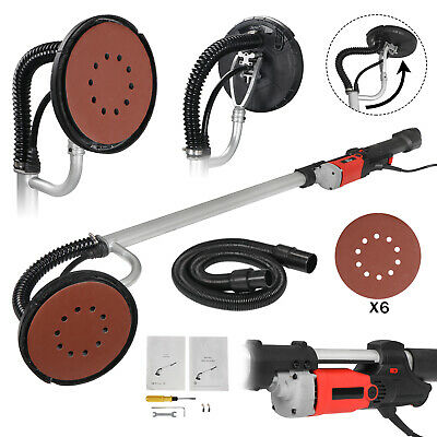 New 750 Watts Commercial Electric Variable Speed Drywall Sander Free Sanding Pad