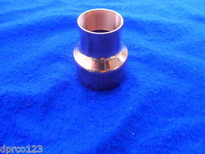 """3"""" x 2"""" Copper Reducer Coupling Copper Bell Reducer *Plumbing* FREE SHIPPING"""