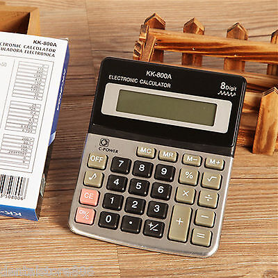 Portable 8Digital Display Pocket Electronic Calculating Calculator Office Supply
