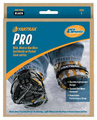 YAKTRAX PRO - SIZE 44-46  Ice Snow Shoe Boot Grips Cleats