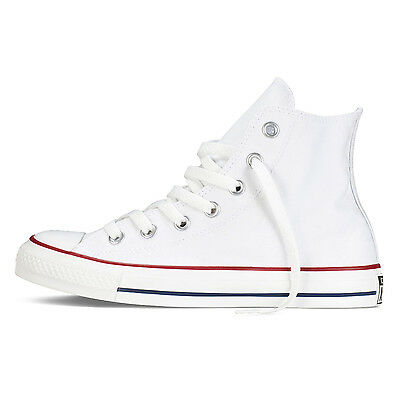 Converse Chuck Taylor All Star Hi White Classic Shoes Canvas Sneakers DS M7650C