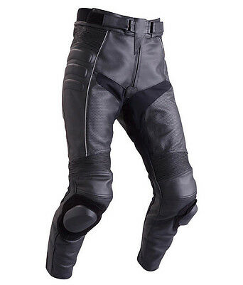 Perforted Motorbike Leather Pant Sports Trouser Racing Biker Pant- Custom Size