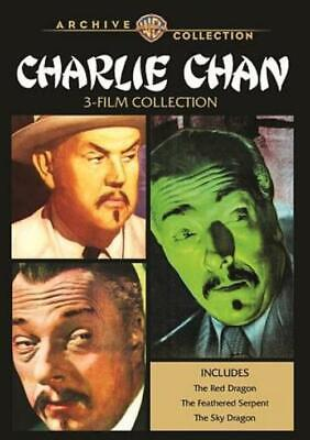 Charlie Chan 3-Film Collection New Dvd