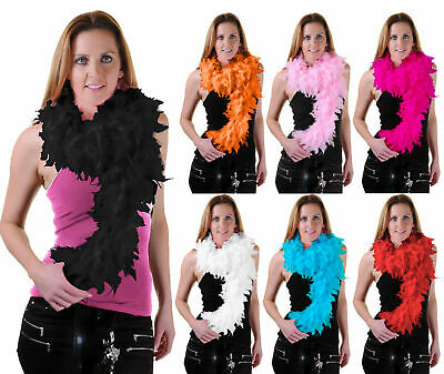 20's Ladies Womens 150 CM High Quality Feather Boa Flapper Hen Night Accessory