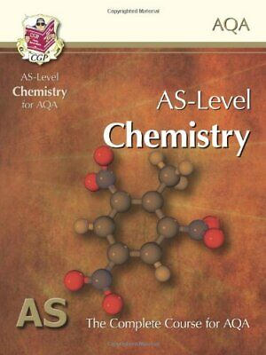 AS Level Chemistry: The Complete Course for AQA by CGP Books Book The Cheap Fast