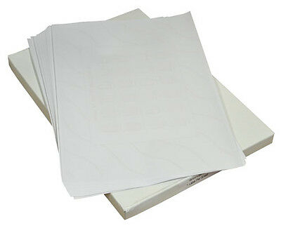 A4 Sheets of Plain White Adhesive Sticker Label Sheets Postal Address Labels