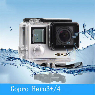 Waterproof Diving Housing Case for GoPro Hero 3+/Hero 4 Plus Accessory New Fast