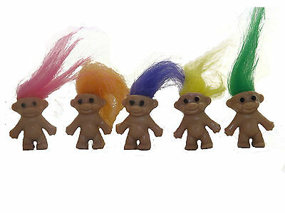 Mini Trolls Mixed Colours Party Bag Toys Lucky