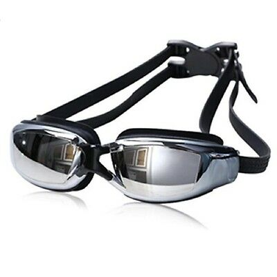 Anti Fog UV Protection Swimming Goggles Electroplate Waterproof Swim Glasses