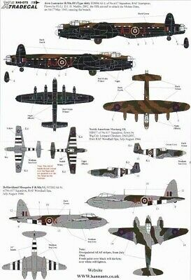 Xtradecal X48075 1/48 617 (Dambusters) Squadron 1943-2008 Model Decals