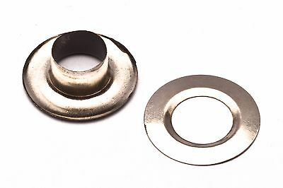 """3/8"""" #2 Metal Eyelets / GROMMETS & Washers,choose color & quantities USA SALE"""