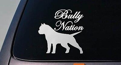 "American Bully decal *B179* sticker pit bull 6"" sticker decal"