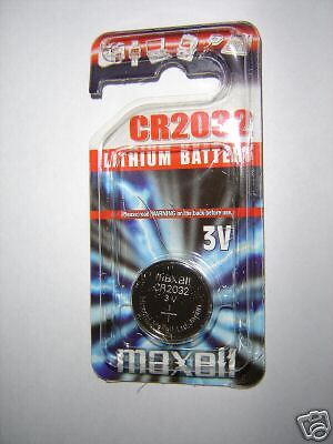 CR 2032 3volt lithium battery