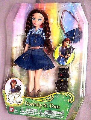 Legends-of-Oz-Dorothy-Return-and-Toto Fashion Doll Set Brand New In Sealed Box
