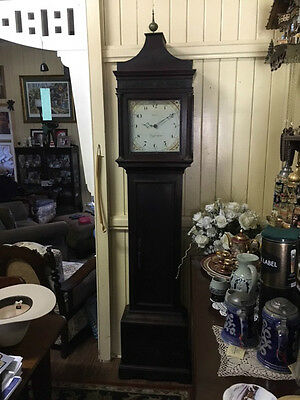 Antique Cottage Longcase Clock