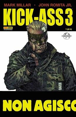 comics KICK ASS 3 N. 1 - VARIANT COVER JUSTICE FOREVER - panini nuovo ITALIANO