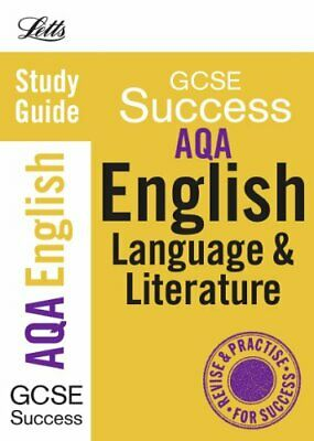 AQA English Language and Literature: Study Guide (Letts GC..., VARIOUS Paperback