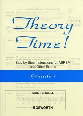 David Turnbull: Theory Time - Grade 1 by Turnbull, David Book The Cheap Fast