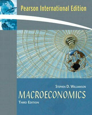 Macroeconomics by Williamson, Stephen D. Paperback Book The Cheap Fast Free Post