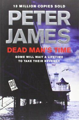 Dead Man's Time by James, Peter Book The Cheap Fast Free Post