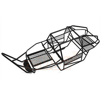 Xtra Speed V Steel Cage Chassis Black Axial SCX10 RC Cars Crawler #XS-SCX22494