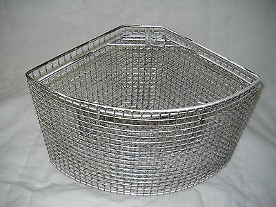 "Basket, Parts washing, 7.5""H x 8""radii, 1/4 round, 5002xxxe"