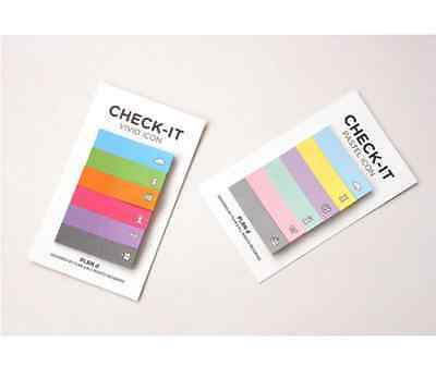 "120pages ""CHECK-IT"" Memo Stick/ Post-it note/ Sticky Memo Paper"