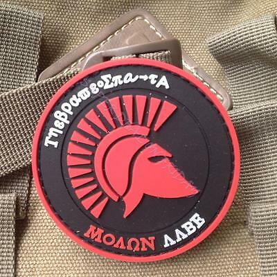 3D Roman Gladiator Army Morale Military Badge PVC Tactical Patch Cool