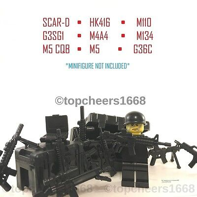 Custom LEGO Guns/Weapons (accessories)