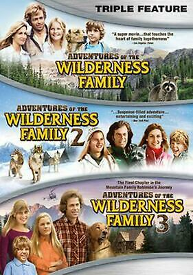 Adventures of the Wilderness Family Triple Feature - DVD-STANDARD Region 1 Free