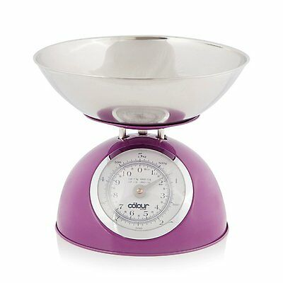 Cook Incolour MCK20002 Dome Kitchen Scale Plum Scale 5 kg Capacity