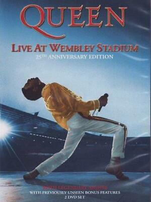 Queen: Live at Wembley Stadium - 25th Anniversary Edition - DVD Region 2 Free Sh