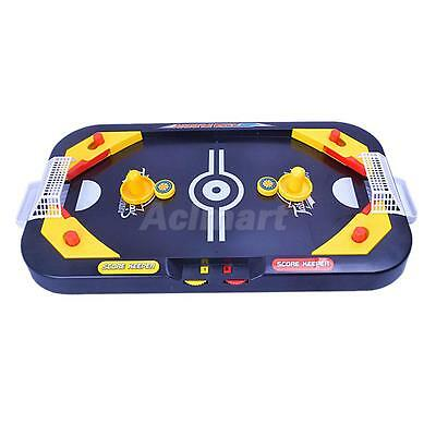 Desktop Table Game Mini Air Hockey Indoor Outdoor Play Interactive Toy Gift