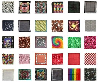 New 2018/19 Designs Patterned Graphic Colourful Unisex Bandana Head Neck Scarf