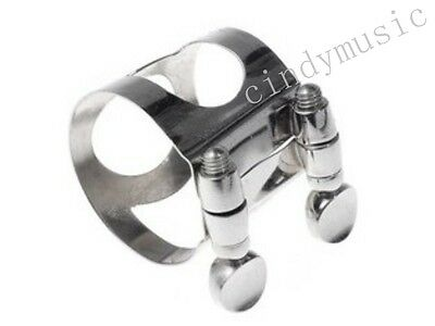 Clarinet Mouthpiece nickel metal Ligature clarinet parts Bb NEW